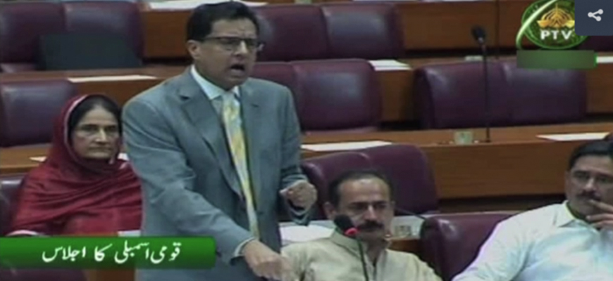 Pakistani Lawmaker Capt. Safdar To National Assembly: Ahmadi Muslims Working For Israel, Ahmadi Faith 'A Plant Planted By Israel And The British Crown' – 'In Their False Religion, There Is No Concept Of Jihad'