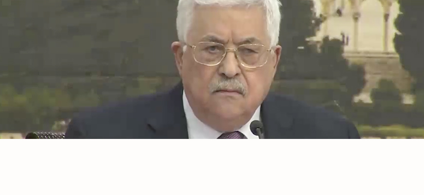 Palestinian Authority President Abbas: 'This Has Been Our Land Since... The Canaanites'; Since Cromwell, Israel Has Been 'A Colonialist Enterprise' Unconnected With Judaism; 'We Won't Accept America As Mediator With Israel'; PLO Must 'Reexamine The Agreements' With Israel