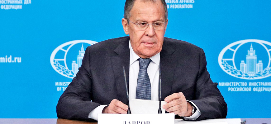 Russian FM Lavrov: The U.S. Refuses To Accept The Realities Of The Emerging Multipolar World