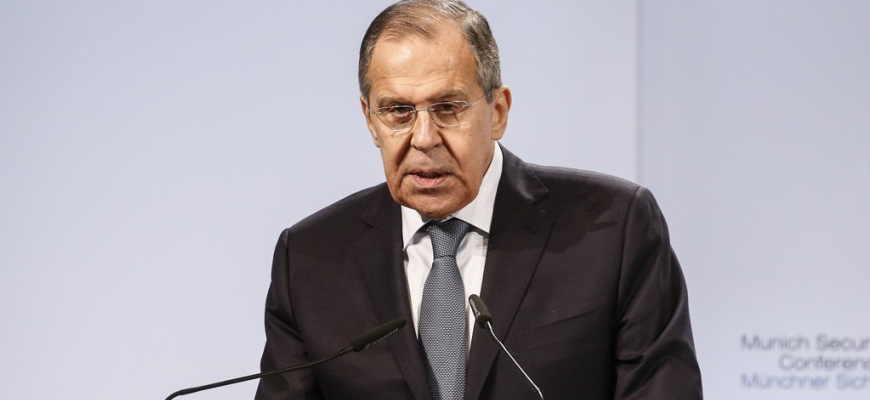 Russian FM Lavrov Tells Munich Security Conference: Like The Third Reich, The U.S. Tries To Push Russia Out Of Europe