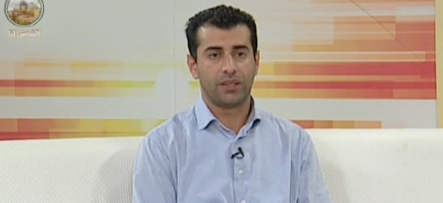 BDS Coordinator Mahmoud Nawajaa In Interview On Palestinian Authority TV: A Nobel Prize For The BDS Movement Would Offset Its Reputation For Being Awarded To War Criminals