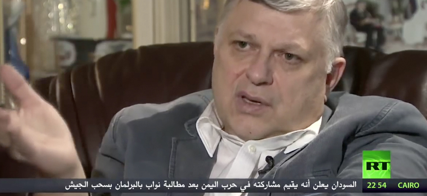 Former Russian Ambassador To Qatar Titorenko: Qaradhawi Urged Al-Jazeera To Air Gory Arab Spring Footage And Said Qatari Rulers Would Eventually Be Ousted; Hamad Bin Jassim Orchestrated Deterioration Of Bilateral Relations