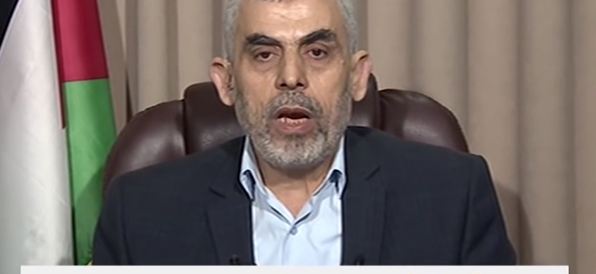 Hamas Leader In Gaza Yahya Sinwar: Our People Took Off Their Military Uniforms And Joined The Marches; They Have Imposed Their Agenda Upon The Whole World; We Decided To Turn The Bodies Of Our Women And Children Into A Dam Blocking Arab Collapse