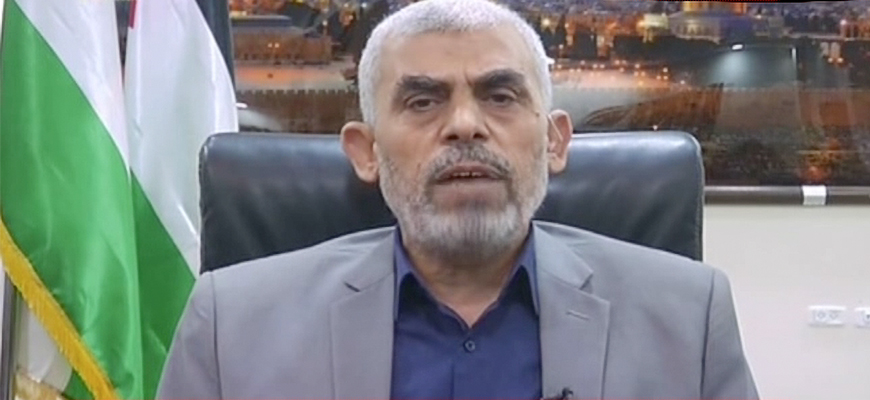 Hamas Leader In Gaza Yahya Sinwar: We Are Coordinating With Hizbullah, Iran On An Almost Daily Basis