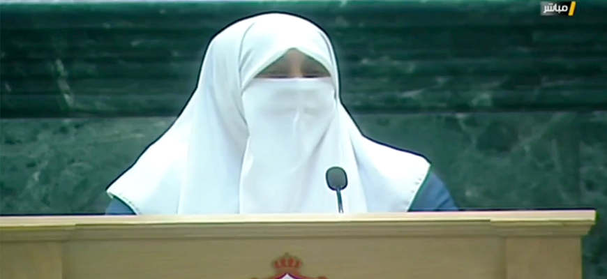Jordanian MP Huda Etoom In Address To Parliament: My Late Mother's Single Unfulfilled Desire Was To Blow Herself Up Among The Zionist Jews