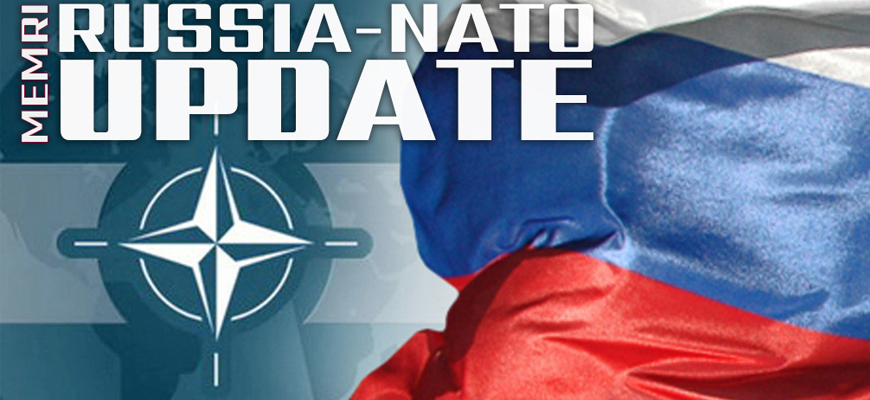 Russia-NATO Update: Russia's Defense Minister Shoigu: NATO Is Trying To Prevent Russia From Becoming A Geopolitical Rival