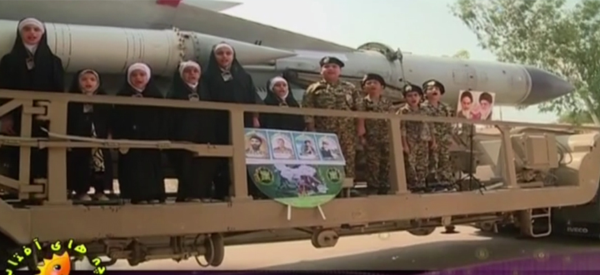Iranian TV Children's Show: Standing Next To Missiles, Children Sing In Praise Of Jihad And Martyrdom