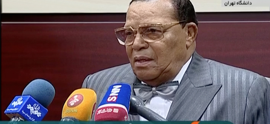 In Tehran University Speech, Louis Farrakhan Refers To 'Great Satan' U.S., Tells Iranians: If You Persevere In Your Revolution Despite The Sanctions, 'Victory Will Be Yours' – And More Clips And Reports Of Farrakhan Speeches From The MEMRI Archive