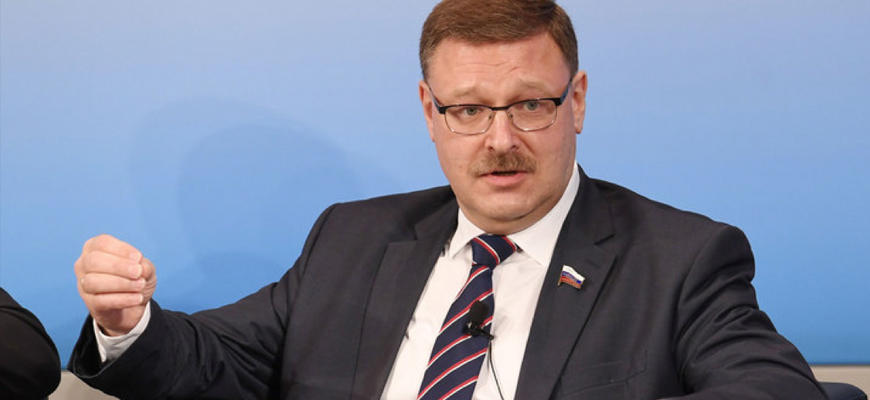 Russian Senator Kosachev: The West's Behavior Towards Russia Is 'Akin To The Classic Racism... In The Era Of Colonialism'