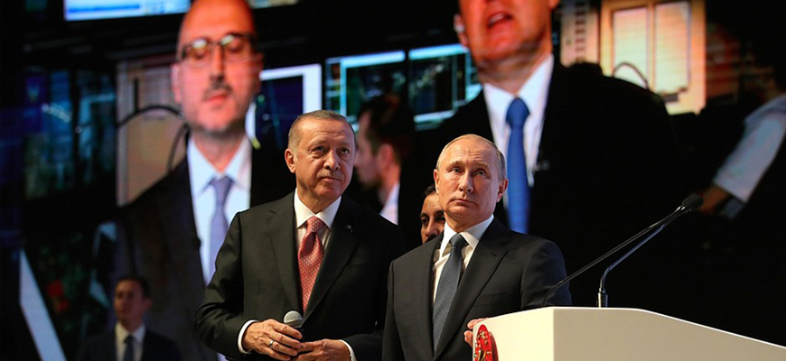Russia-Turkey Relations – Putin: The TurkStream Pipeline Is An Outstanding Symbol Of The Diverse Russian-Turkish Partnership