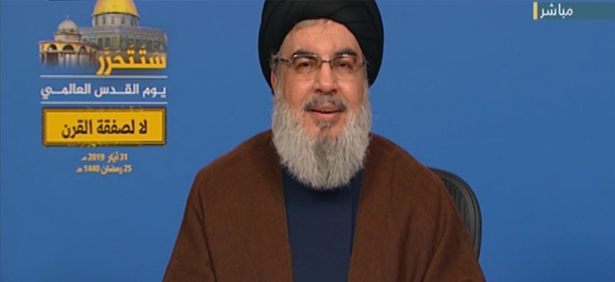 Hizbullah Leader Hassan Nasrallah: U.S. War With Iran Would Ignite The Region, U.S. Forces And Interests Would Be Annihilated; The Precision Missiles In Lebanon Can Change The Region's Balance Of Power