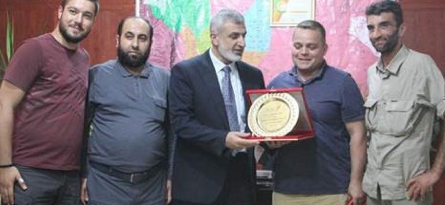 Turkish State-Run News Network 'TRT World' Staffers – Including U.S. Citizen – Receive Awards For 'Explaining The Truth' – From Al-Qaeda Offshoot And Designated Terrorist Organization Hay'at Tahrir Al-Sham (HTS)