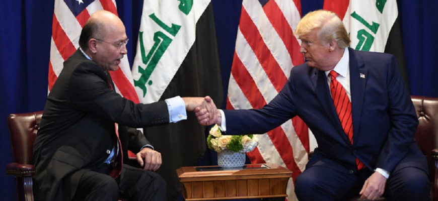 Iraqi Shi'ite Reactions To Iraqi President Saleh's Meeting With President Trump In Davos