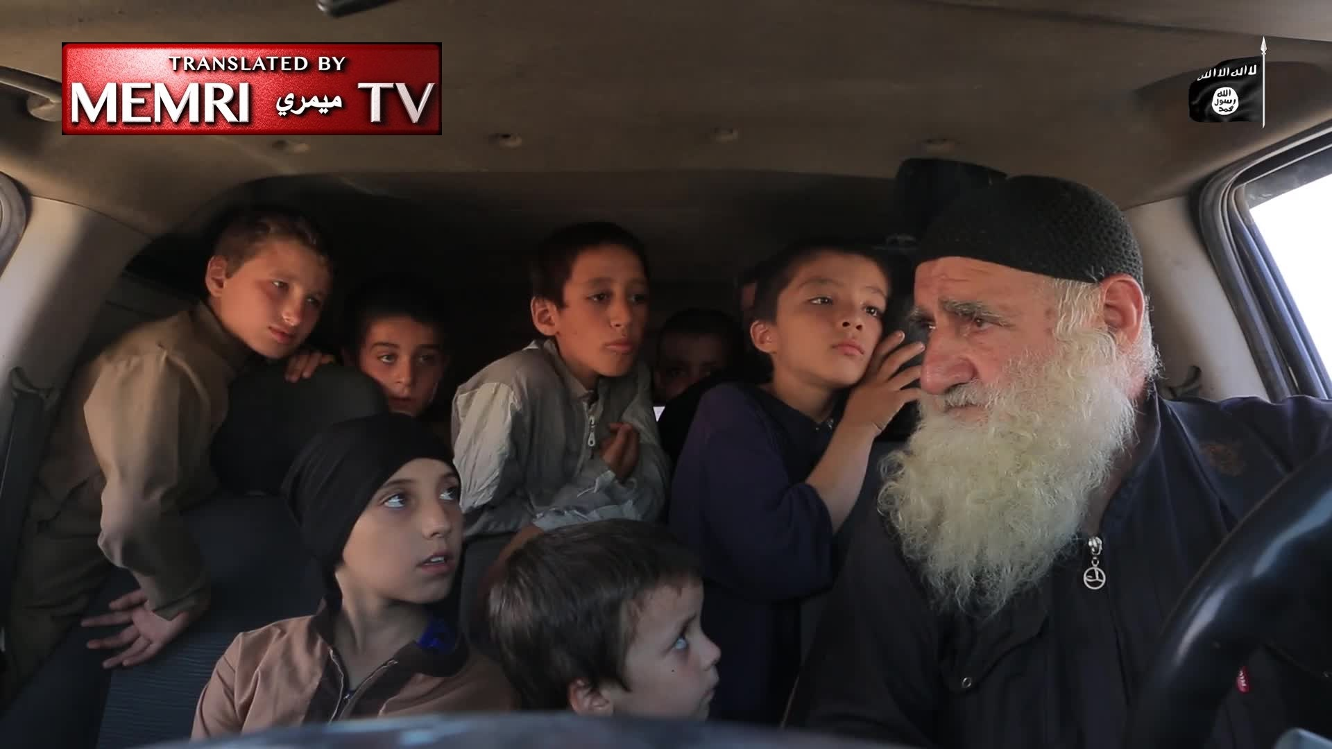 80-Year-Old ISIS Activist Mentors Young Orphaned Sons of Foreign Fighters, Calls for Attacks in the U.S., Russia, China