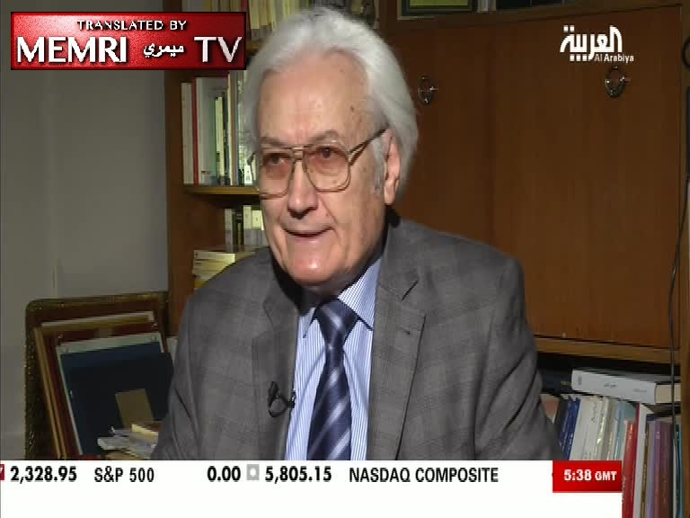 Lebanese Philosopher Ali Harb: We Steal Theories from the West and Attribute Them to Islam