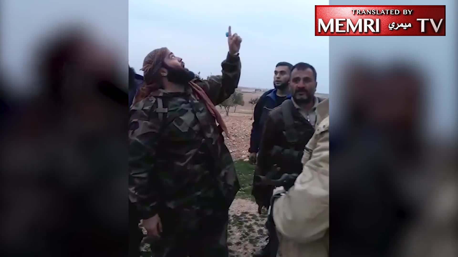 Syria-Based Jihadi Cleric 'Abdallah Al-Muhaysini Celebrates Downing Of Russian Fighter Jet In Idlib