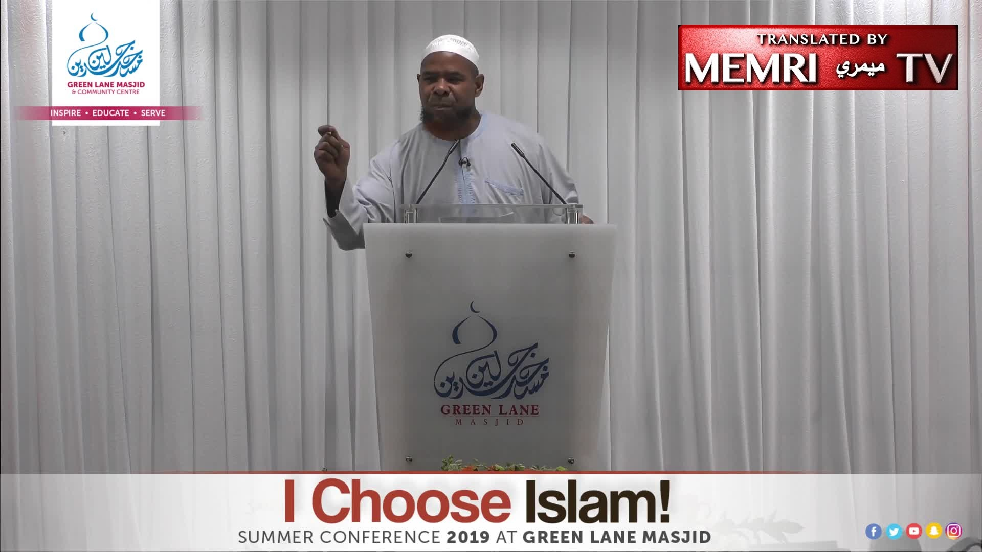 U.K. Cleric Abu Usamah At-Thahabi: I Support Chopping Off Hands of Thieves, But Only in the Muslim World, Not Here