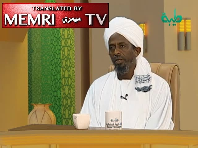 Sudanese Cleric 'Alaa Al-Din Al-Zaki: The Jews Epitomize Trickery, Were Turned into Apes for Trying to Trick Allah