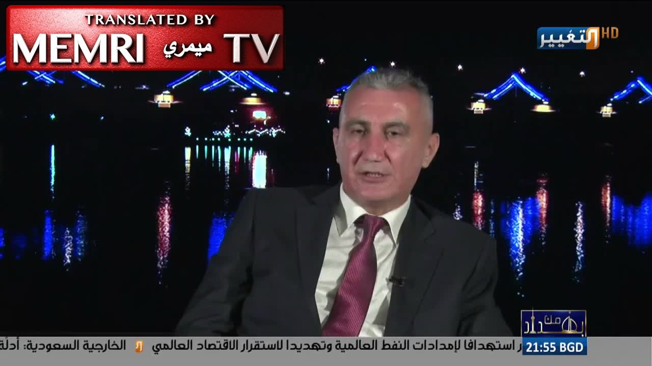 Fmr. Advisor to Iraqi Parliament Alex Warkes: We Do Not Have the Means to Fight Israel; People in Iraq Who Want to Fight Israel Should Go to Iran
