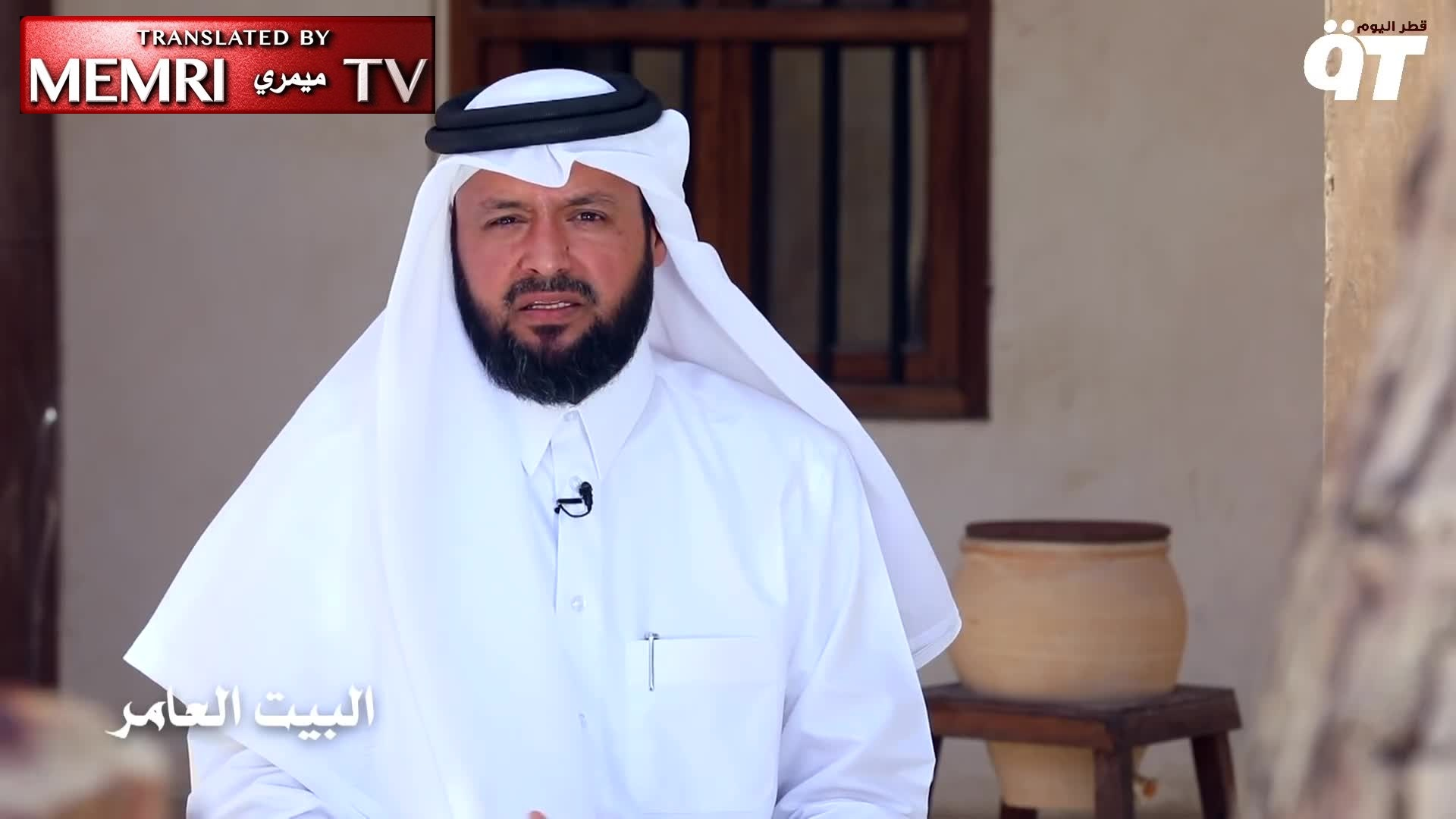 Qatari TV Host Ali Al-Muhannadi: Women Must Leave the House as Little as Possible and Obtain Husband's Permission Whenever They Do