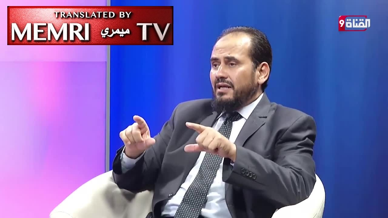 Libyan Researcher Dr. Ali Al-Siba'i: Allah Took Jerusalem from the Jews Because of Their Sins and Gave It to the Muslims