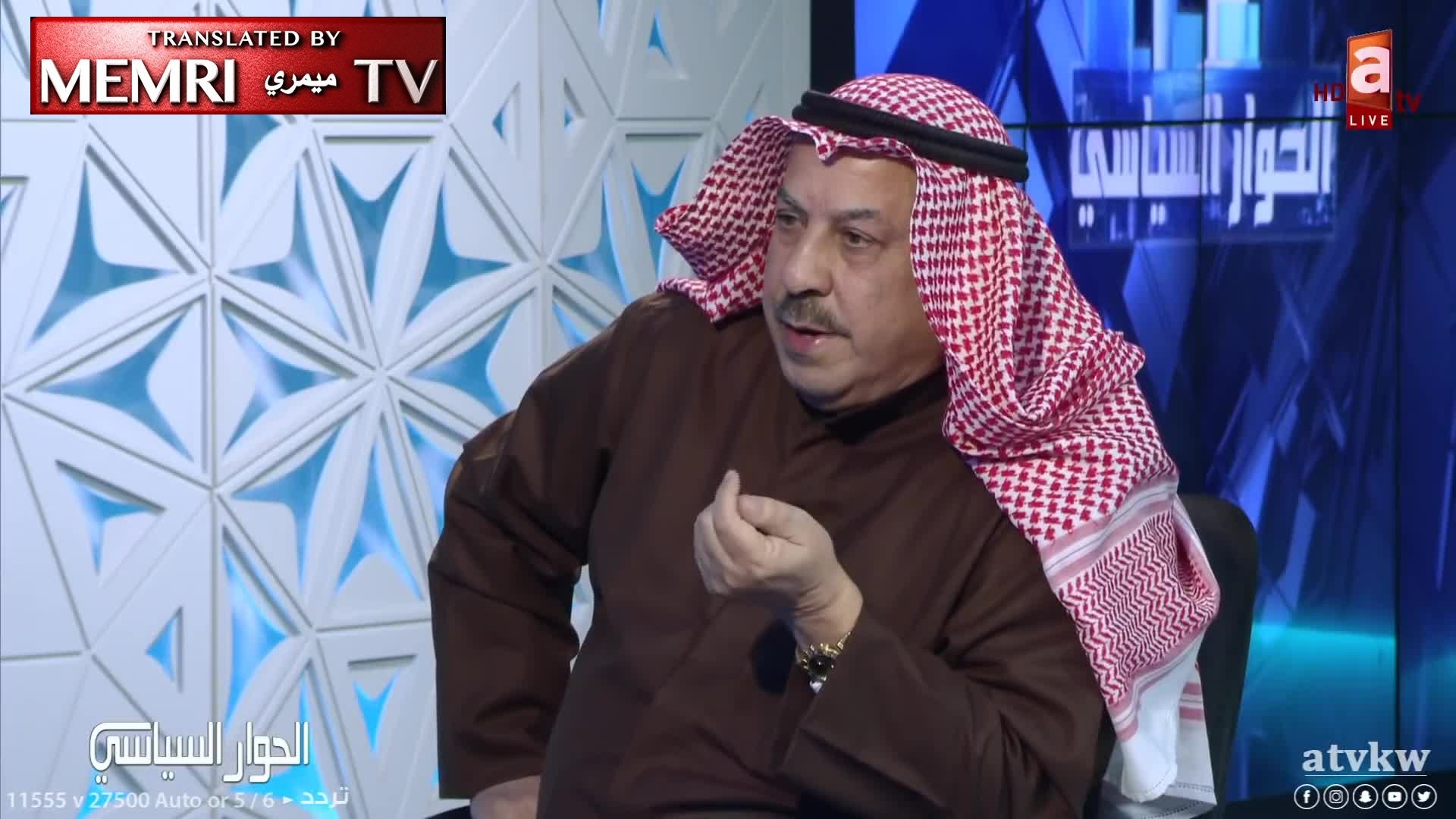 Former Kuwaiti Minister Ali Al-Baghli: Kuwaitis Who Convert to Judaism, Other Religions Should Not Lose Their Citizenship; Our Laws Does Not Forbid Conversion