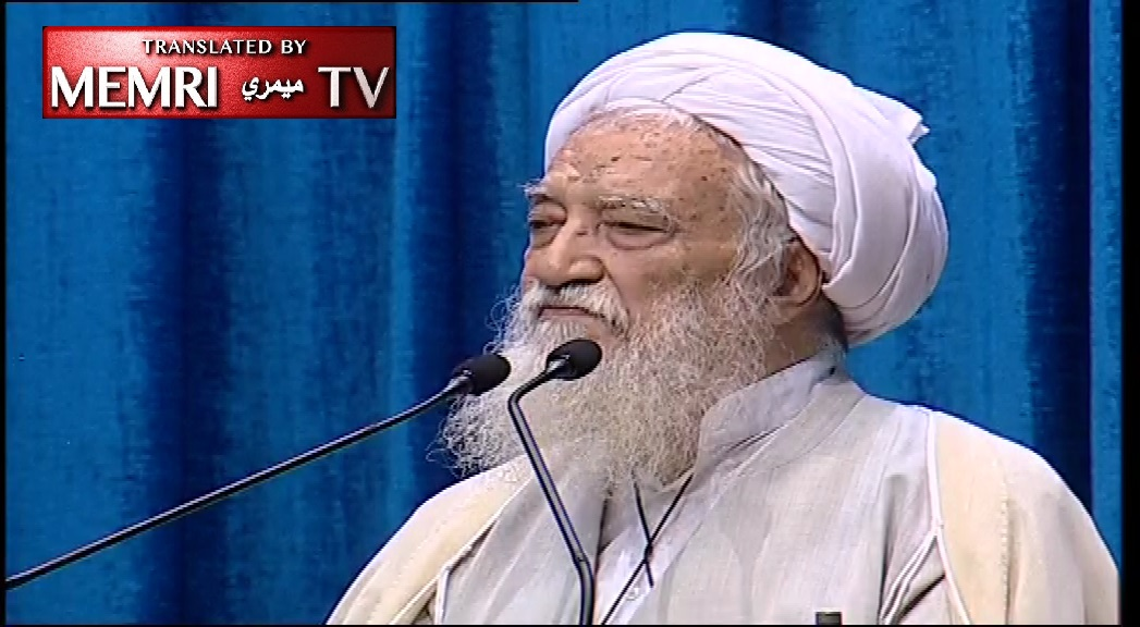 Senior Iranian Ayatollah Movahedi-Kermani: We Will Enrich Uranium As We See Fit for Energy, Science; We Don't Want Nukes, We Can Just Strike Those at Israel's Dimona Reactor; If We Are Attacked, Persian Gulf Will Turn Red