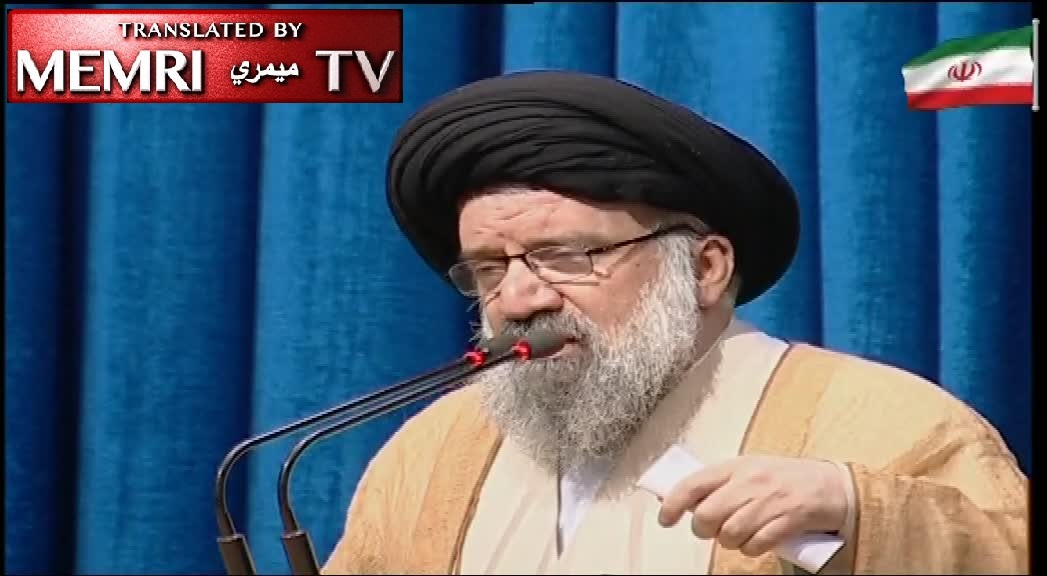 Tehran Friday Sermon - Ayatollah Ahmad Khatami Accuses U.S. and KSA of Trying to Smuggle Weapons into Iran, Adds: We Want Locally-Administered Internet, Like in China and Russia
