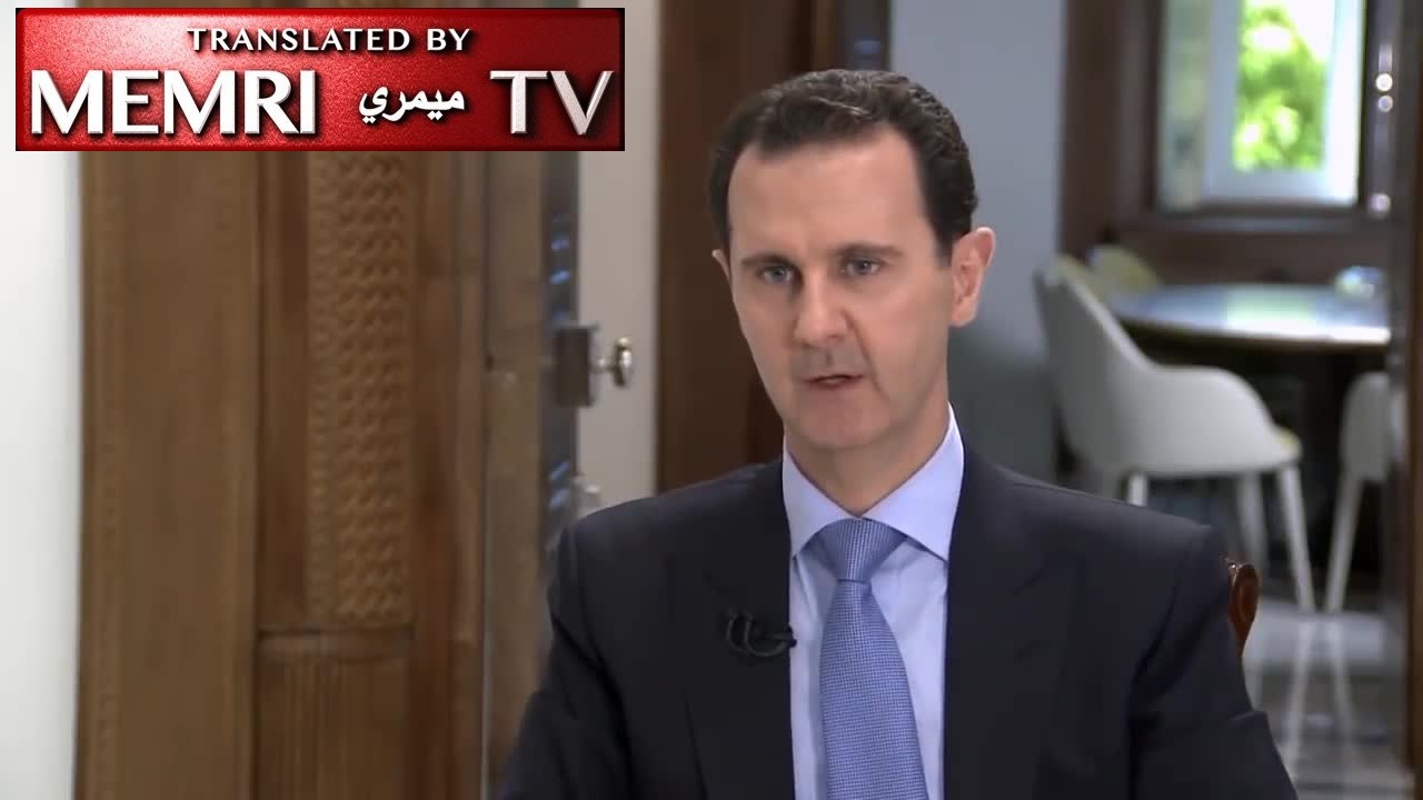 Syrian President Bashar Al-Assad: If We Decide There Is a Need for Iranian Military Bases in Syria, We Will Not Hesitate