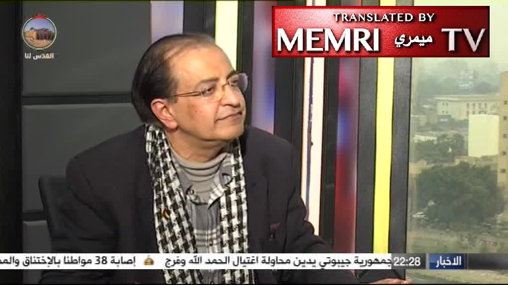 "Egyptian Historian Bassam El Shammaa to Palestine TV: Jews Carried Out ""Counter Holocaust,"" Murdering 60,000 to 80,000 Germans"