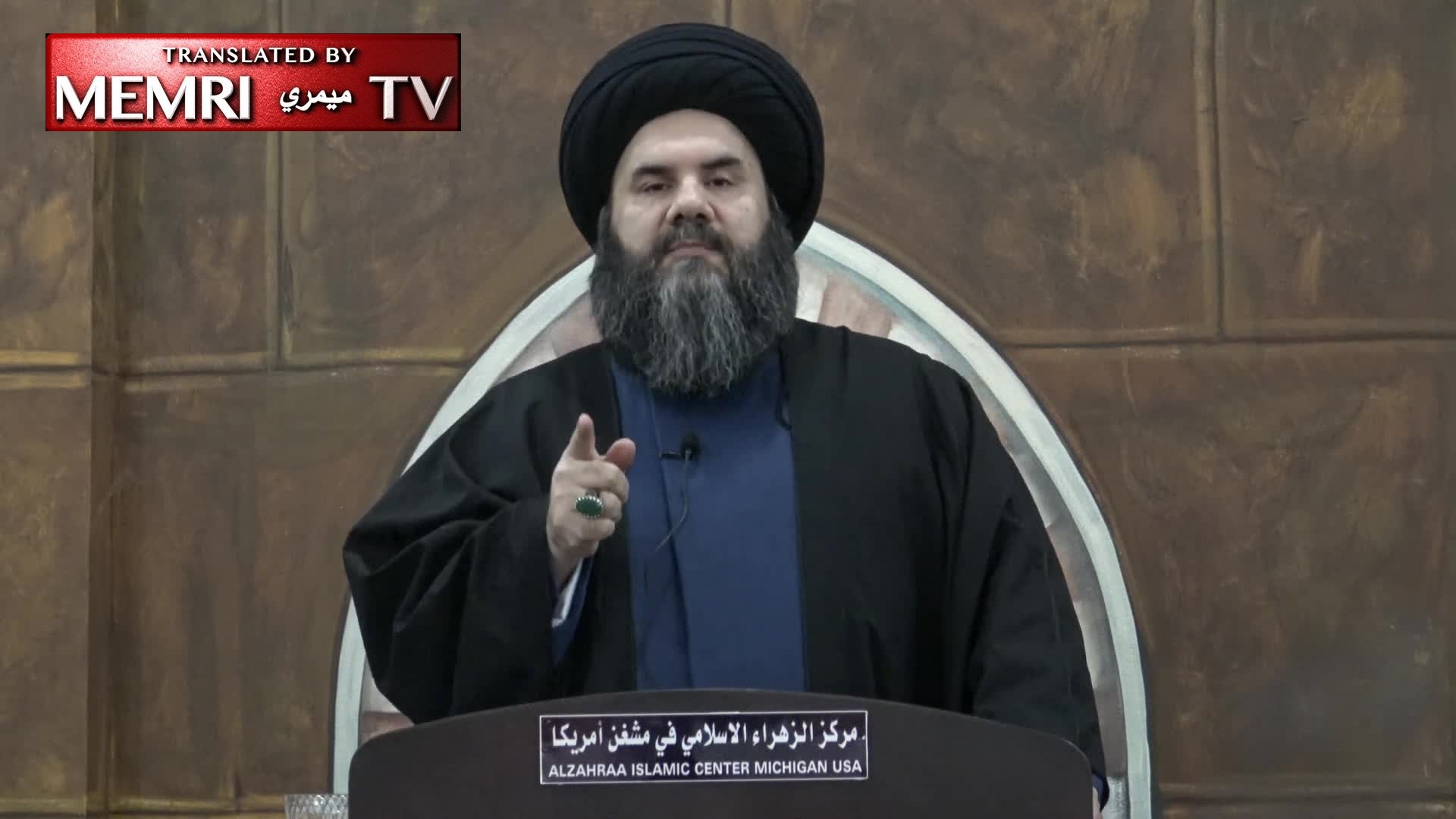 Detroit-Based Shiite Iraqi Imam Bassem Al-Sheraa: The Iraqi People Must Gather Around the Leadership of Ayatollah Al-Sistani