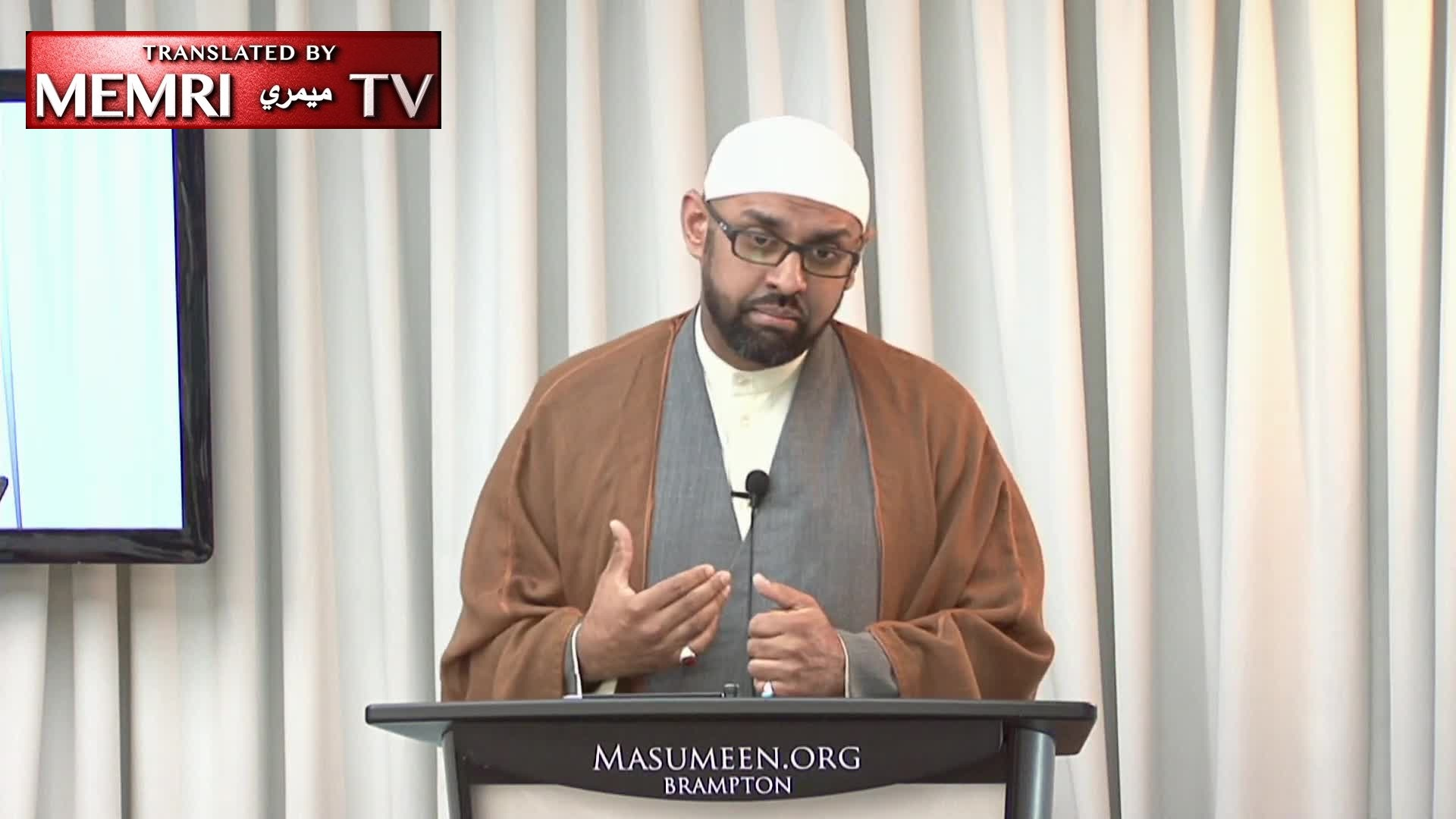 Canadian Shiite Imam Jaffer H. Jaffer: We Must Support Leaders like Khamenei, Sistani When They Stand up to Trump's Bullying