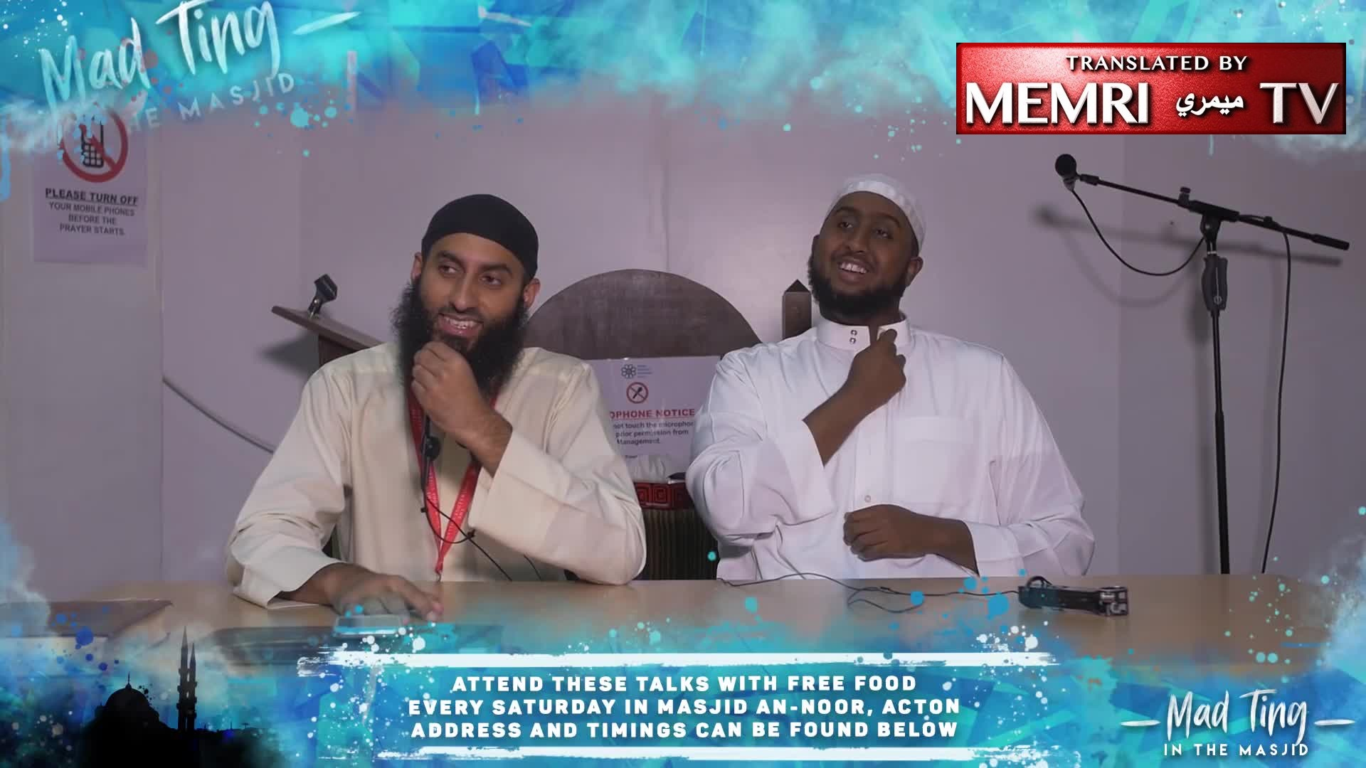 "British Preacher ""Dawah Man"" Imran Ibn Mansur Advises His Listeners to Return to Muslim Lands: Here, Hijabi Girls Get Abortions, Children Come Home Believing in Evolution"