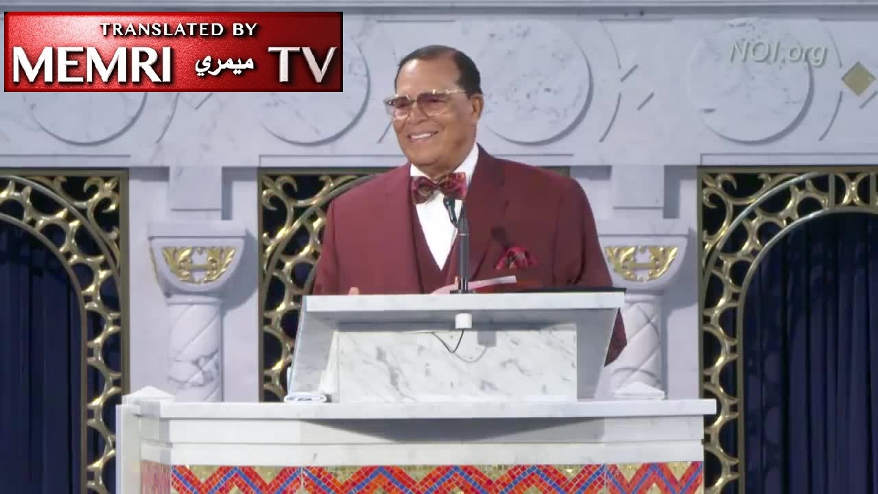 "Nation of Islam Leader Louis Farrakhan: Ashkenazi Jews Are Not Semitic; They Have ""Crept Out of Europe"" and Have No Claim to Palestine"