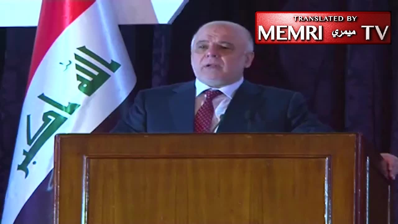 Iraqi PM Haider Al-Abadi Compares Shiite Militias to ISIS: We Did Not Fight the Baath Regime Only to Be Ruled by Gangs
