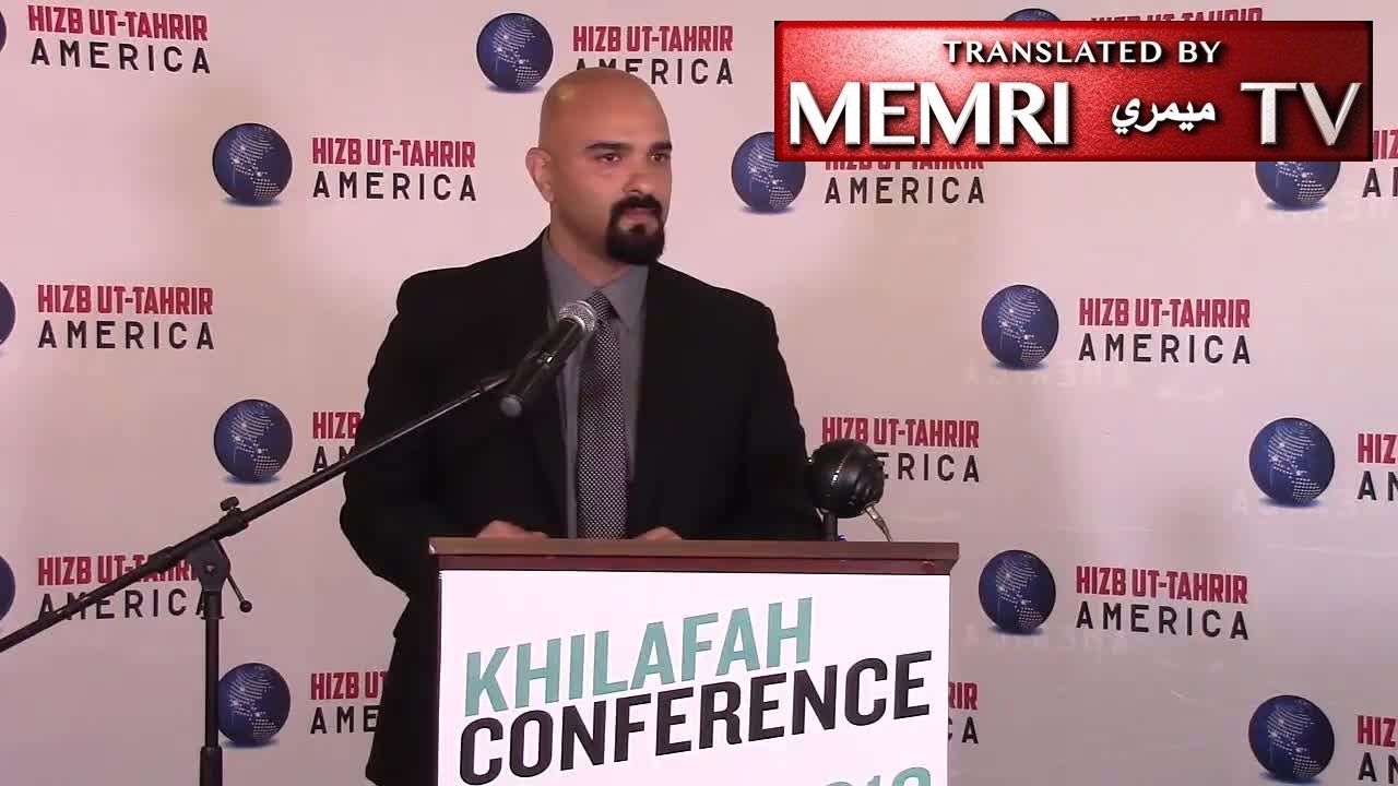 "Haitham Ibn Thbait of the U.S. chapter of Hizb-ut-Tahrir Warns Muslims of the ""Perils"" of Western Democracy: Our Children Become U.S. Soldiers, FBI Agents, Republicans, Democrats, and Gay"