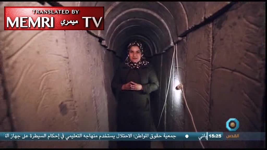 TV Report on Hamas Tunnel-Digging Unit in Gaza: Resistance Courses Like Blood Through Their Veins
