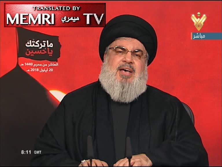 Hizbullah Leader Hassan Nasrallah: We Have Accurate Missiles, Despite Israel's Attempt to Thwart Delivery