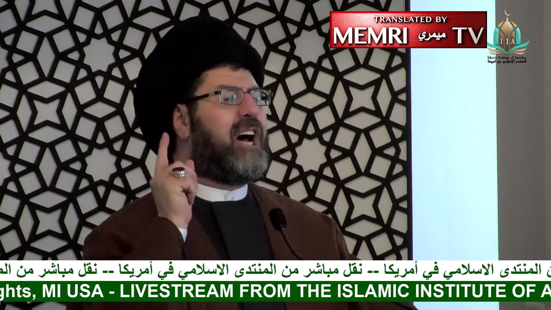 Detroit-Based Shiite Imam Hassan Qazwini Praises Houthis for Saudi Oil Field Attacks, Says: If Iran Launched the Attacks, It Is Trump's Fault Because He Withdrew from the JCPOA