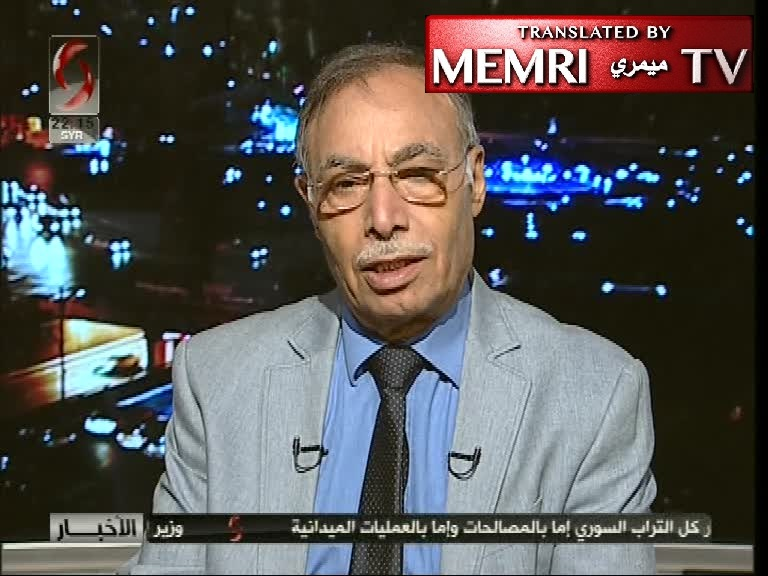 Syrian Political Analyst Hmeidi Al-Abdallah: Once Idlib Is Liberated, the U.S. Forces in Syria Will Be Next