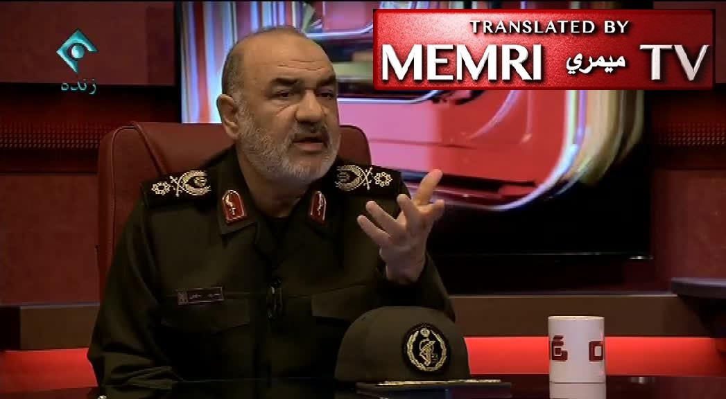 IRGC Deputy Commander Hossein Salami: America Cannot Withstand Our Weapons; U.S. Economy Cannot Support a War against Iran