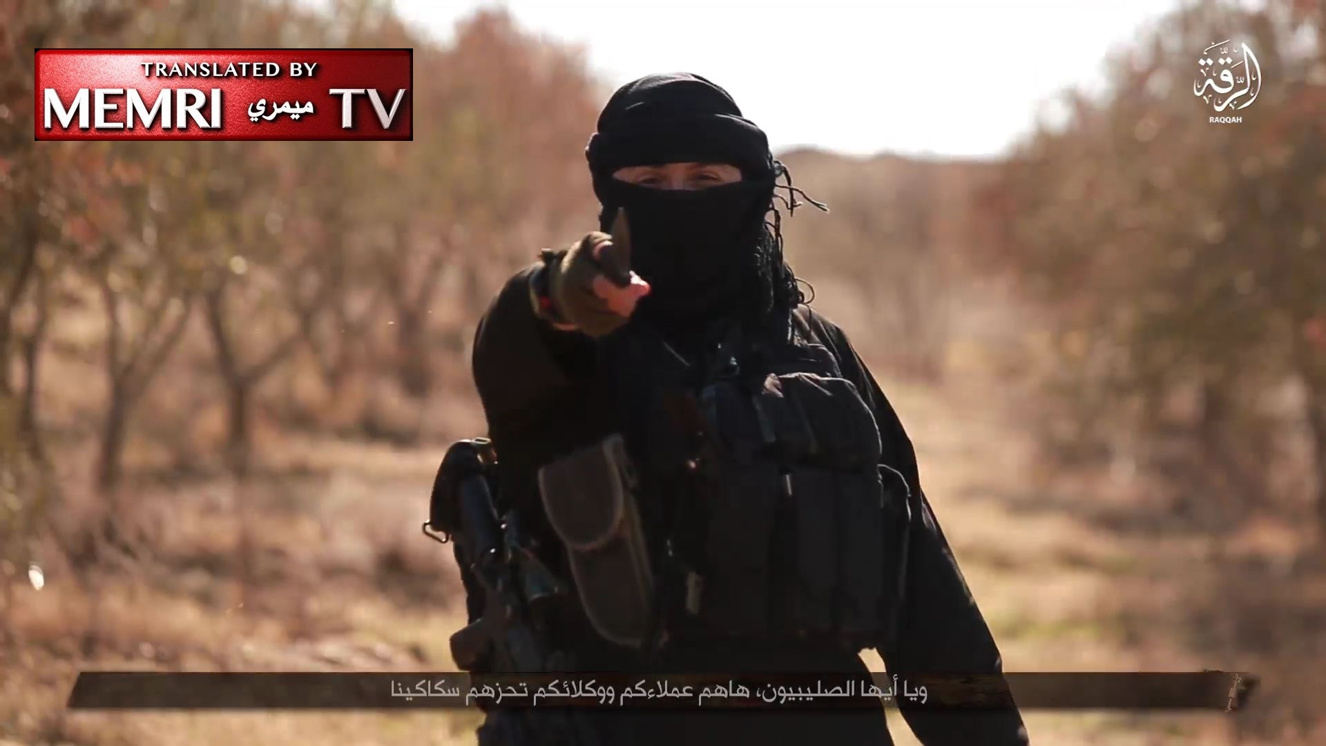 "Warning: Extremely Graphic - ISIS Video from Al-Raqqah Documents Slaughtering of PKK ""Agent"""