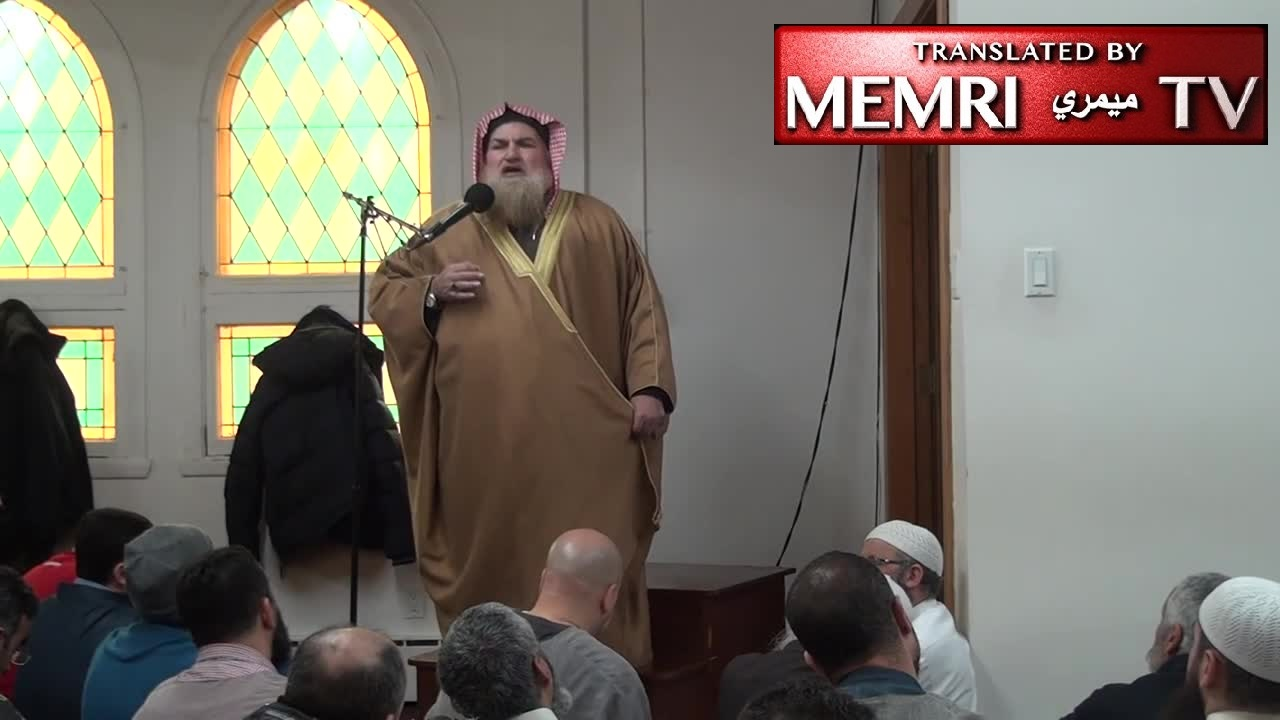 Jordanian Cleric in Montreal Friday Sermon: On Judgment Day, the Trees and the Stones Will Call on Muslims to Kill the Jews