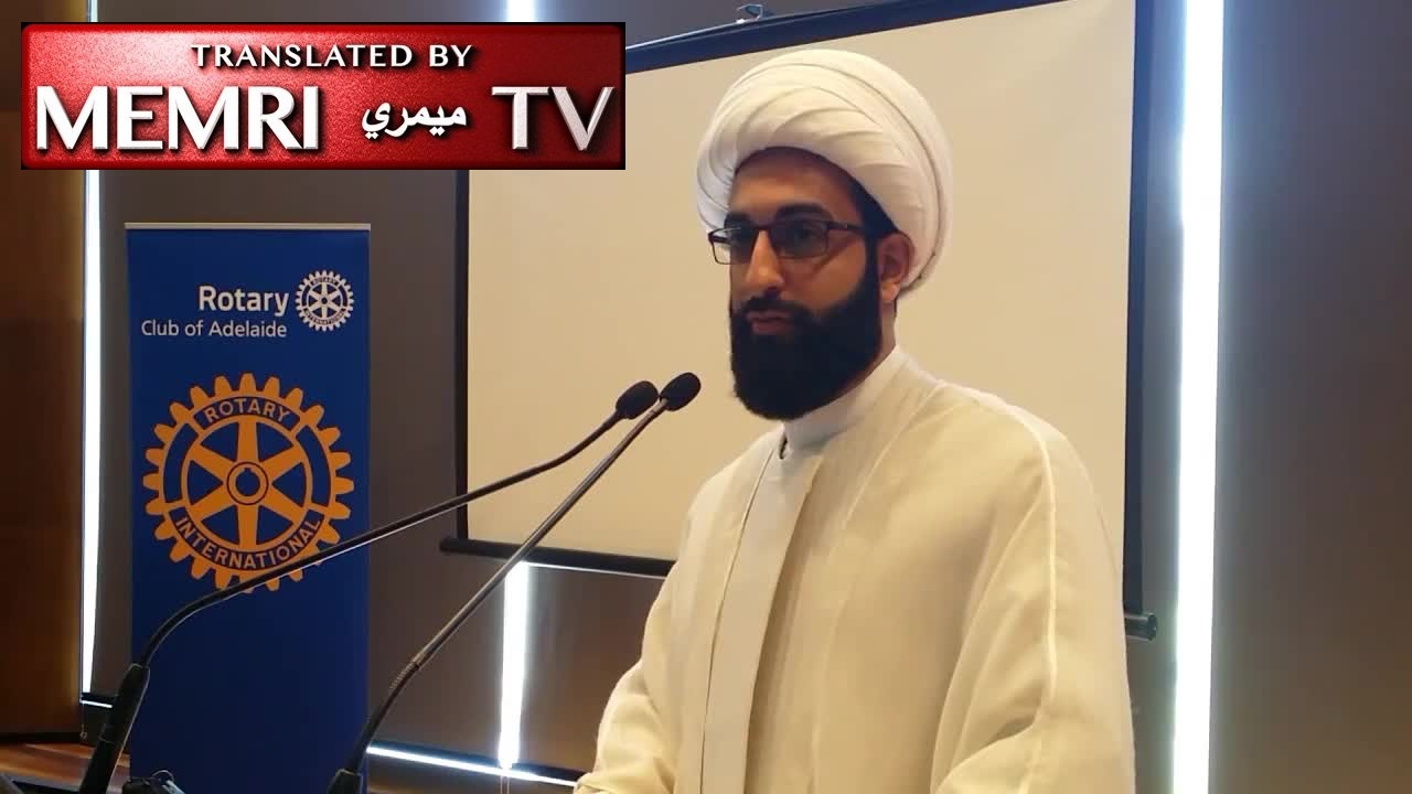 Australian Shiite Imam Mohammad Tawhidi: We Did Not Come to Australia to Have Burqas Running around; Don't Like it? Hop on a Kangaroo Back to Where You Came from