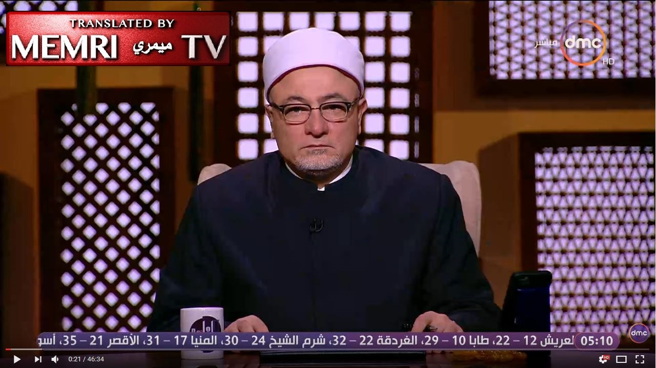 Egyptian Cleric Khaled Al-Gindi: Let Us Open the Mosques for Copts to Pray In