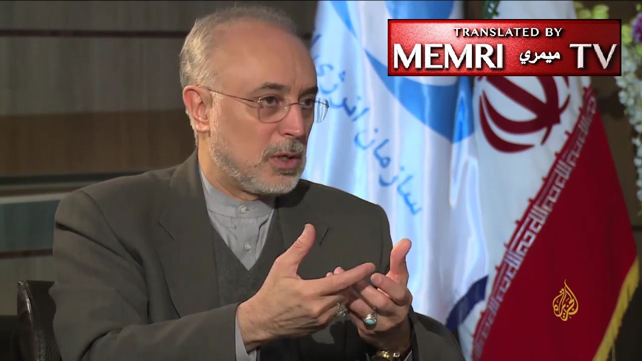 Iranian Nuclear Chief Salehi: There Will Be No Changes to the Nuclear Deal; U.S. Has Not Fulfilled Its Commitments; If Trump Renounces Deal, Our Nuclear Position Will Be Better Than Before
