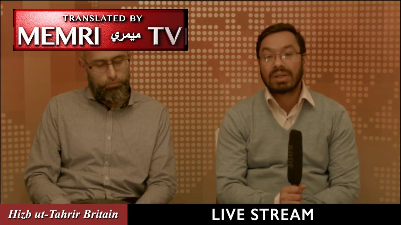"British Hizb ut-Tahrir Member ""Abu Yusuf"" Calls to Overthrow Southeast Asian Governments to Rescue the Muslims in Myanmar"