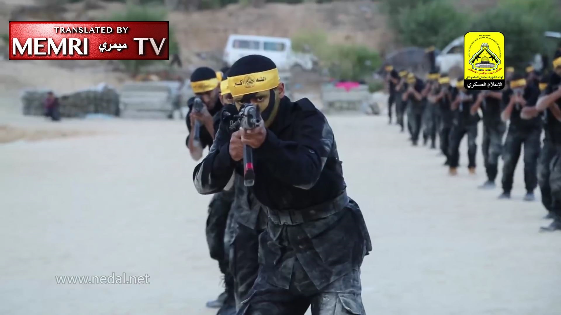 Militants of Fatah's Al-Aqsa Martyrs' Brigades Demonstrate Skills during Course Graduation, Simulate Capture of Israeli Soldier