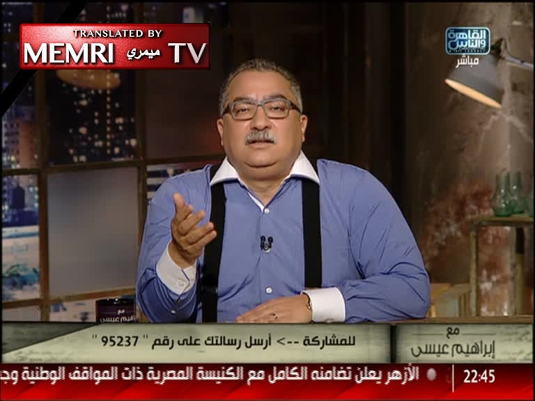 Egyptian TV Host Ibrahim Issa Following Cairo Church Bombing: The Copts Are Persecuted Both by the Terrorists and by the State Institutions