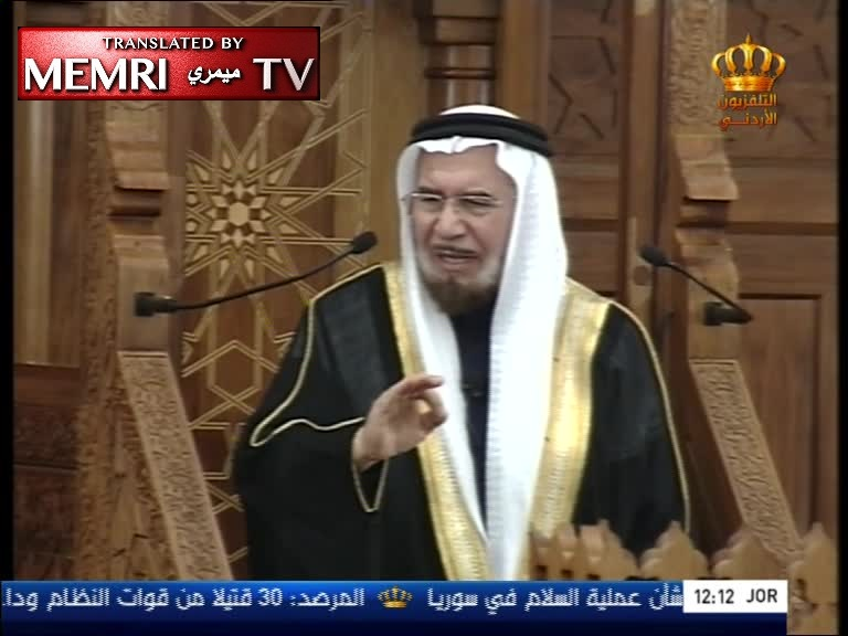 "Jordanian Chief Justice Ahmad Hilayel Submits Resignation after Calling upon Gulf States to ""Save Jordan"" and Warning about Possible Syria-Like Scenario in a Nationally-Televised Friday Sermon"